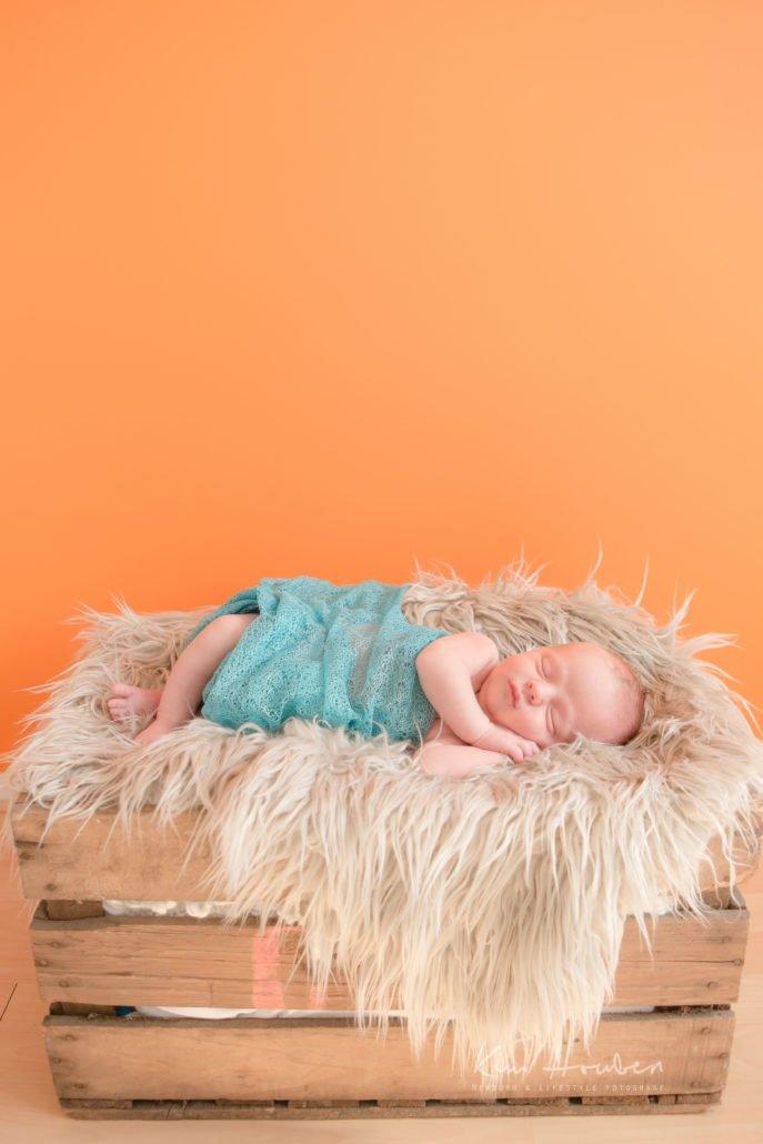 newborn fotografie limburg - newborn Tom